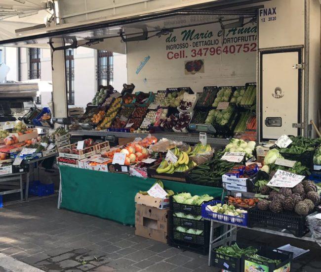 Mercato Calcinatello Brescia Frutta e Verdura